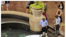 Полицай-робот се удави във фонтан в Ню Йорк (СНИМКА)