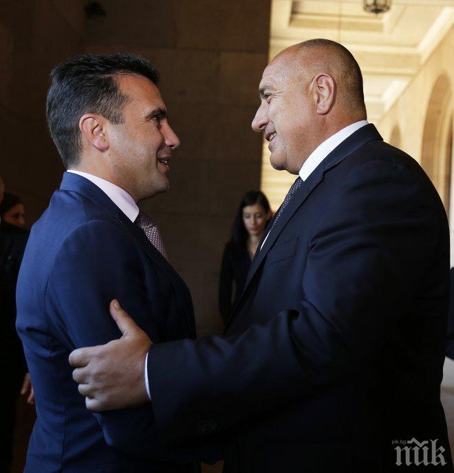Зоран Заев представя утре договора с България на закрито заседание на външната комисия в парламента