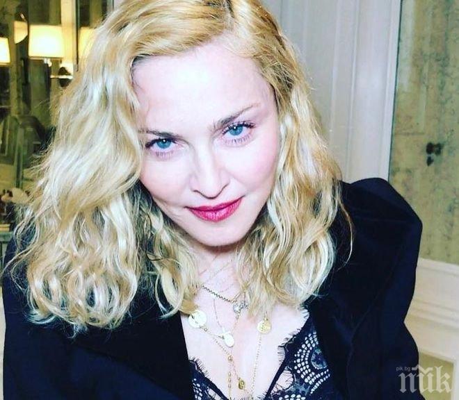 Американци обявиха гащите на Мадона на търг