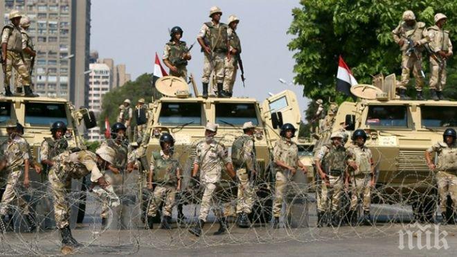 Инцидент! Петима убити египетски полицейски служители при два взрива в Синай