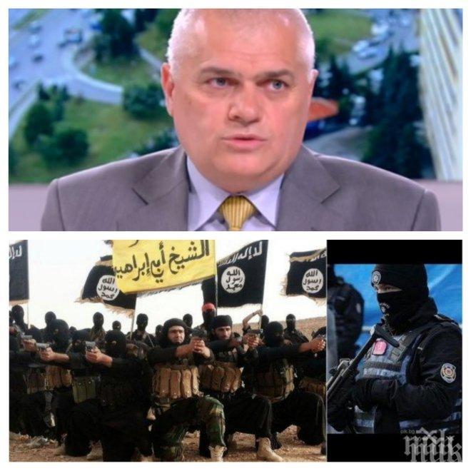 ЕКСКЛУЗИВНО! Шефът на МВР проговори за черния списък на турското разузнаване! Има ли българи със съмнения за тероризъм?