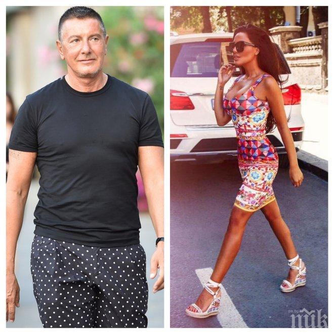 Модното гуру Стефано Габано обвини Николета в кражба (СНИМКА)