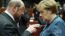 Мартин Шулц попиля Меркел за мигрантската й политика