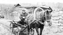 Носихме сено за конете на братушките през 1944 г.