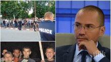 ИЗВЪНРЕДНО! Джамбазки с остър коментар: Циганските махали трябва да се разбият, привърженик съм на смъртното наказание