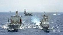 Китай: Съвместните военни учения с Русия не са насочени към трета страна