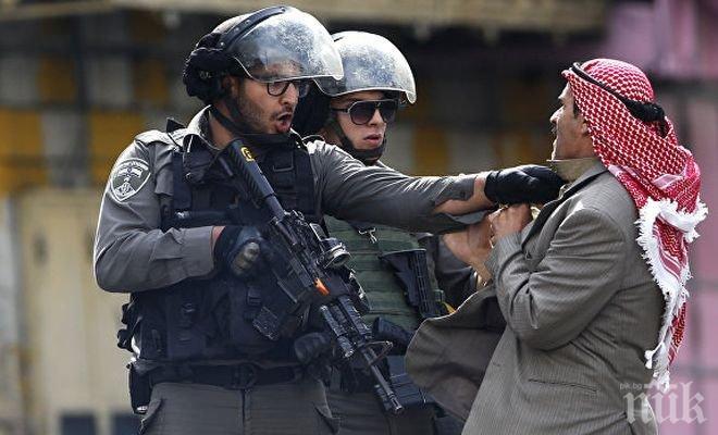 Операция! Спецслужбите в Израел са задържали 25 поддръжници на ХАМАС