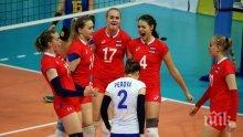 Волейболните националки на България (до 16 години) се класираха за полуфиналите на Евро 2017