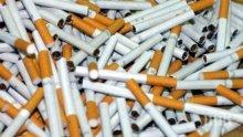 Спипаха 14 800 къса цигари без бандерол на тир паркинг