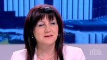 Цвета Караянчева: Смешно е да се говори за битка между две лобита в ГЕРБ
