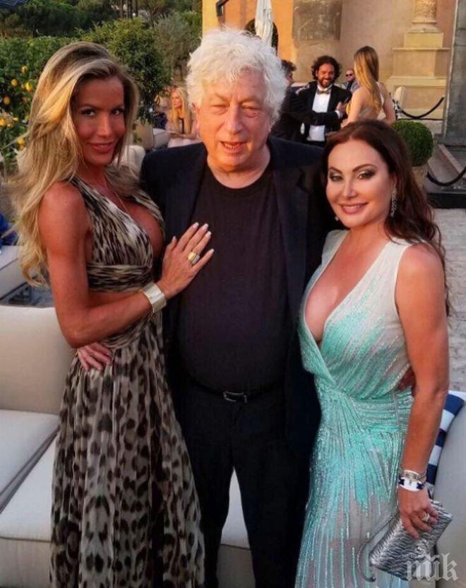 Дарина Павлова и Спас Русев заедно на купон с Лео ди Каприо