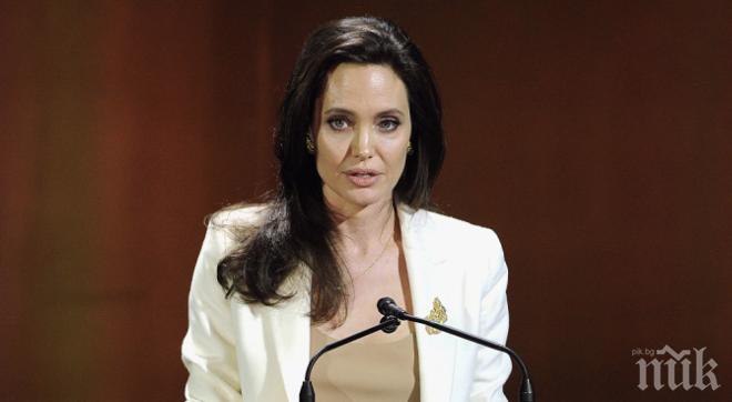 БЕЗ МАЙТАП! Анджелина Джоли става домакиня