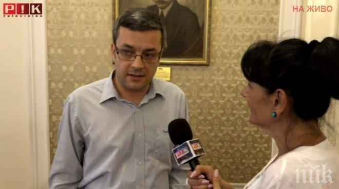 ИЗВЪНРЕДНО! Депутатът от ГЕРБ Тома Биков пред ПИК TV: Питайте Борисов кой да носи политическа отговорност за Боршош и НДК