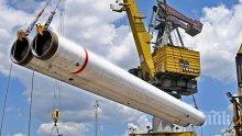 В Русия: България подготвя проекти за достъп до изралски и египетски газ