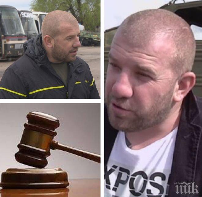 ДИНКО ПРЕД ТЕМИДА! Прокуратурата повдига обвинение срещу ловеца на бежанци за хулиганство