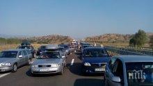 В нощите до 10 август ремонтират пътя София - Бургас