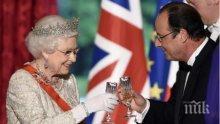 НЕ Е ЗА ВЯРВАНЕ! Кралица Елизабет с алкохолна рецепта за здраве - ето колко често пие