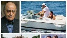 """ОГРОМНА ТРАГЕДИЯ! Мохамед Файед все още плаче всеки ден за сина си Доди и принцеса Даяна! 20 години по-късно той проговаря за """"убийството"""" на двойката (СНИМКИ)"""