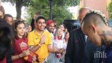 Омраза! Раджа Наинголан отказа автограф на фен на Ювентус