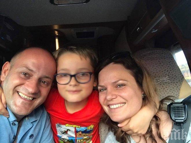 ПЪЛЕН ШАШ! Радан Кънев духна от България - обикаля Европа с каравана и едва не пострада със семейството си (СНИМКИ)