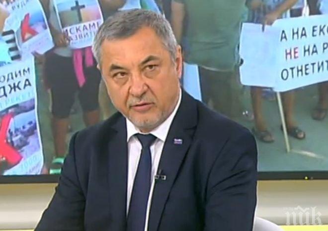 ГОРЕЩА ТЕМА! Валери Симеонов разкри кой мъти водата в Добруджа и насъсква хората за протести