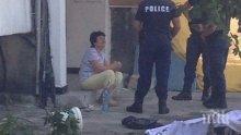Млад мъж полетя от блок в Бургас и загина на място (УЖАСЯВАЩИ СНИМКИ 18+)