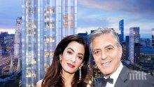 Амал Клуни се появи ослепителна след раждането на близнаците (СНИМКА)