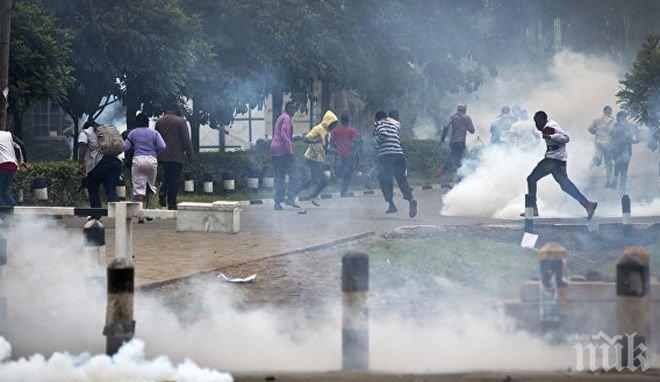 Опозицията в Кения обвини полицията за убийството на над 100 човека