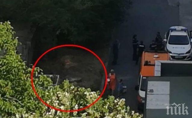 ИЗВЪНРЕДНО! Шокиращи разкрития за самоубийството в Бургас! Голото момиче се хвърлило от 15-ия етаж, докато приятелят й бил пред входа