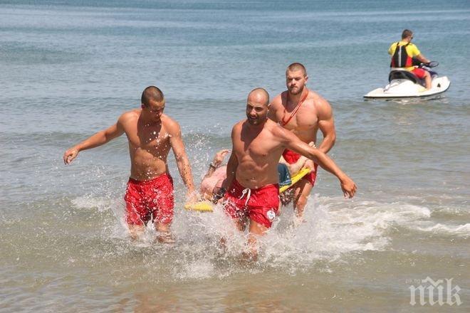 Спасител: Не влизайте в морето пияни