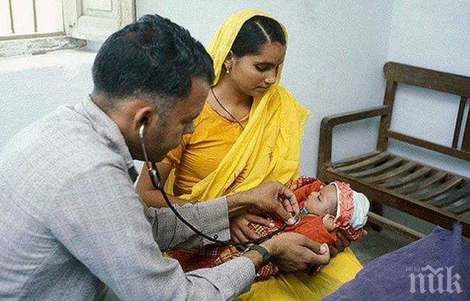 Ужас! 60 деца са починали за пет дни в индийска болница