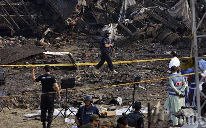 Десет убити и 14 ранени след взрив в Пакистан