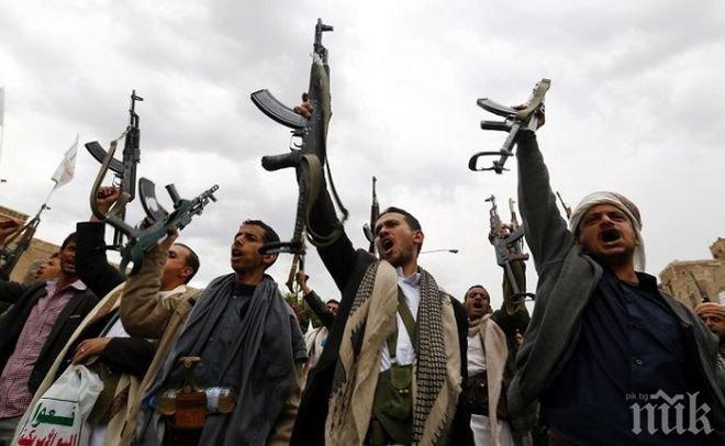Кораб на водената от Саудитска Арабия коалиция е бил нападнат от йеменски хути