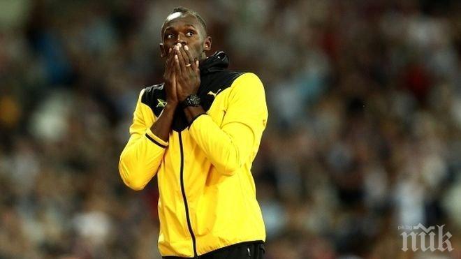 Юсейн Болт след финалната си обиколка: Почти се разплаках, феновете бяха всичко за мен (СНИМКИ)