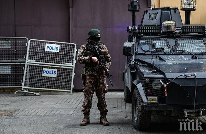 """Трима терористи на """"Ислямска държава"""" са задържани в Турция"""