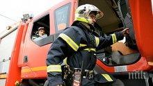 Късо съединение подпалило автобуса във Враца
