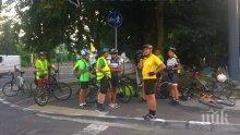 Велосипедистка се сблъска с миниван на кръстовището до Бургаския затвор