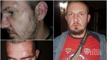 БРУТАЛНО НАСИЛИЕ! Роми с ножове, предвождани от Кольо Тарзана, пребиха българин, живеещ в Англия (СНИМКИ)