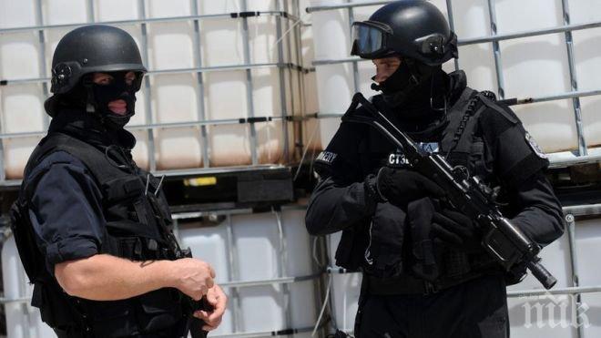 Петият заподозрян, прострелян от полицията в Камбрилс, е загинал