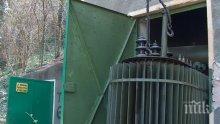 Кражба на масло спря тока в Петрич