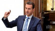 """Башар Асад нападна Турция, били """"гарант на терористите"""""""
