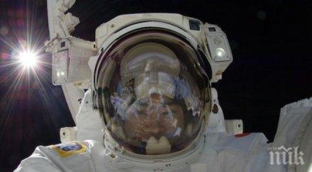 руски космонавти тестваха нов скафандър