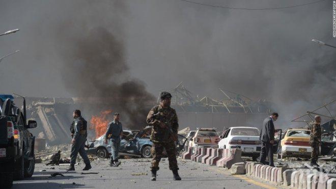 Взрив в дипломатическия квартал на Кабул