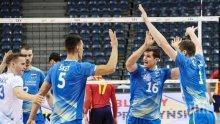 Словения тръгна с чиста победа над Испания в групата на България
