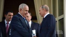 Нетаняху доволен: Всяка среща с Путин помага за сигурността на Израел