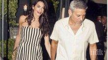 Джордж и Амал Клуни даряват 1 милион долара на организация за борба с расизма