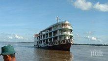 Кораб потъна в приток на Амазонка, най-малко седем души са загинали