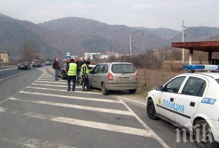 """ВАЖНО! Катастрофа затапи магистрала """"Тракия"""", движението е ограничено"""