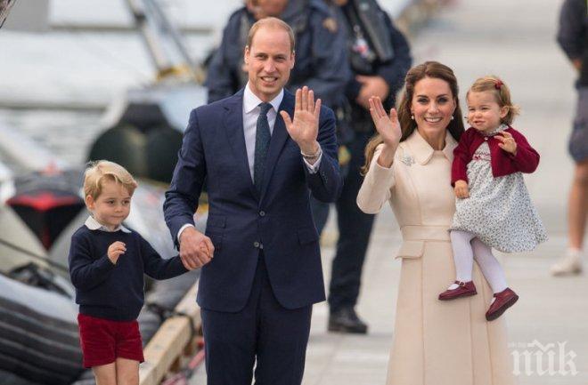 Слухове забремениха Кейт Мидълтън с трето, принц Хари се сгодил
