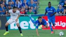 Ефектен гол на Гансо донесе първа победа на Севиля